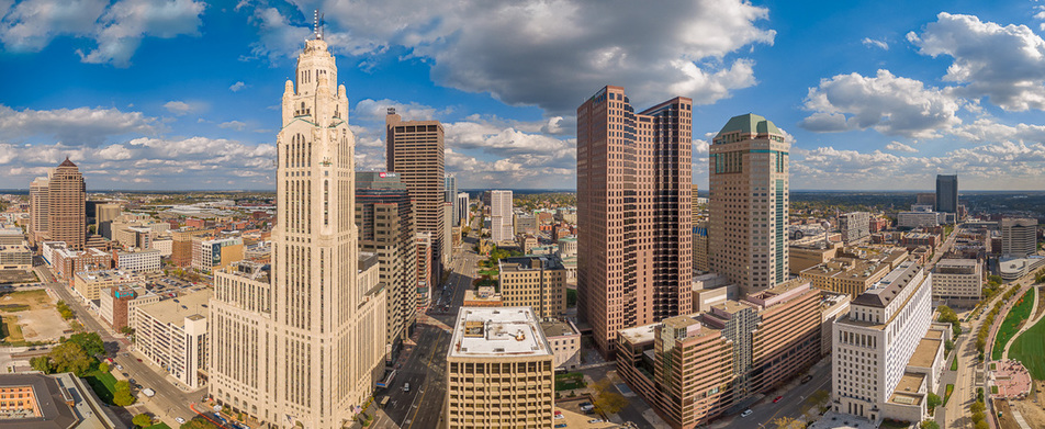 Columbus Ohio Drone Photo